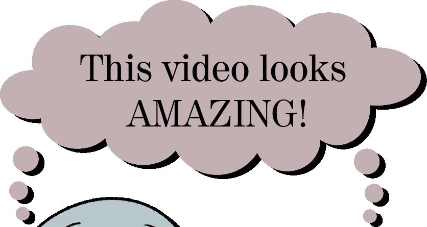 This video looks AMAZING!