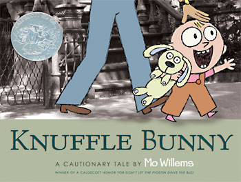 books starring knuffle bunny