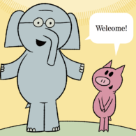 the world of elephant piggie - Piggie And Elephant Coloring Pages
